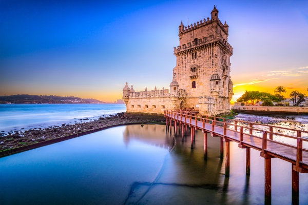 Lisbon-Portugal-at-Belem-Tower-on-the-Tagus-River.-shutterstock_250528270